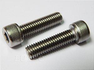 Parafuso Allen Cabeça Cilíndrica M4 x 6 Aço Inox (Embalagem 20 peças)