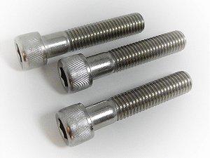 Parafuso Allen Cabeça Cilíndrica M6 x 80 Aço Inox (Embalagem 10 peças)