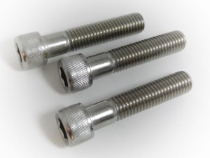 Parafuso Allen Cabeça Cilíndrica M8 x 50 Aço Inox (Embalagem 10 peças)