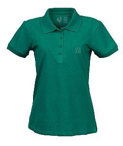 Polo Feminina Made in Mato Verde Alecrim