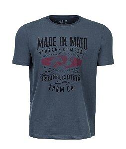 Camiseta Estampada Made in Mato Farm Cominho