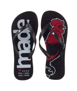 Chinelo Made in Mato Rooster Red