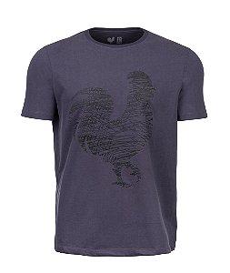Camiseta Estampada Made in Mato Minimalista Chia