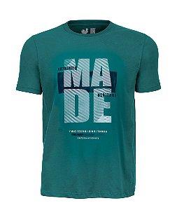 Camiseta Estampada Made in Mato Verde Try Vegan