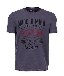 Camiseta Estampada Made in Mato Farm Chia