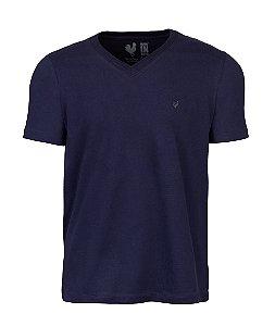 Camiseta Basic Marinho Gola V
