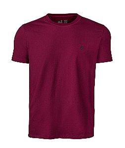 Camiseta Basic Bordo Careca