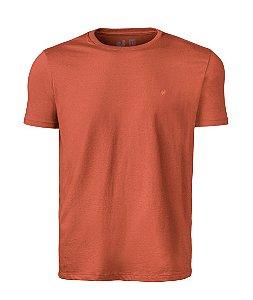 Camiseta Basic Laranja Careca