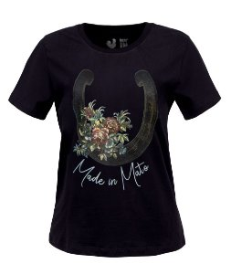 Tshirt Estampada Made in Mato Preto