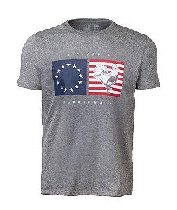 Camiseta Estampada Made in Mato EUA Grafite