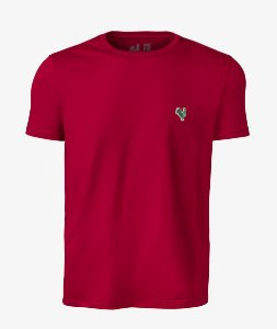 Camiseta Basic Vermelho Made in Mato