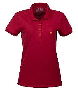 Polo Feminina Made in Mato Vermelho