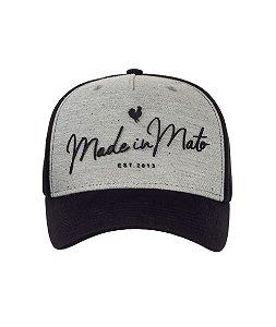 Boné Made in Mato Letters Mescla