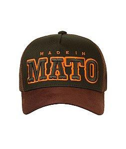 Boné Made in Mato Country Verde Musgo