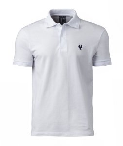 Camisa Polo Made in Mato Masculina Branca