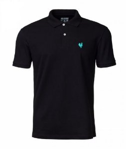 Camisa Polo Made in Mato Masculina Preta
