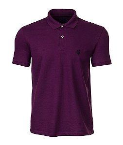 Camisa Polo Made in Mato Masculina Roxa