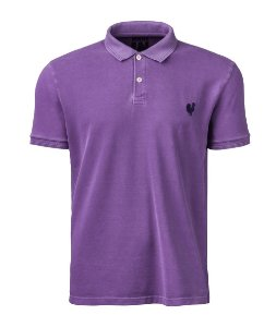 Camisa Polo Stone Made in Mato Masculina Uva