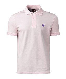 Camisa Polo Made in Mato Masculina Stone Rosa
