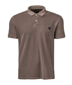 Camisa Polo Made in Mato Masculina Stone Cáqui