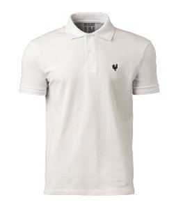 Camisa Polo Made in Mato Masculina Off White