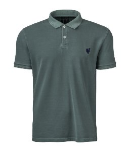 Camisa Polo Made in Mato Masculina Stone Musgo