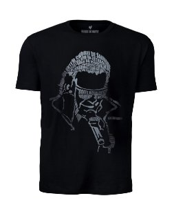 Camiseta Masculina Bem Sertanejo  José Rico Preta