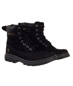Bota Feminina Made in Mato Adventure Preta