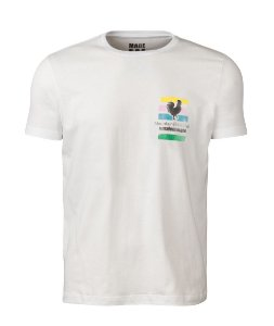 Camiseta Made in Mato Masculina Bike Club Off White