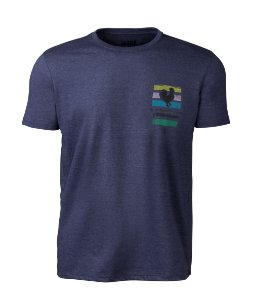 Camiseta Made in Mato Masculina Bike Club Stone Azul