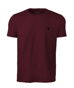 Camiseta Masculina Made in Mato Lisa Vinho