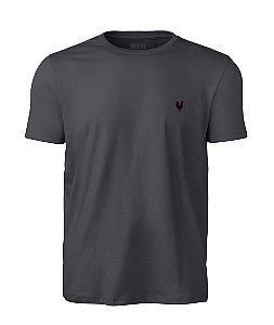 Camiseta Masculina Made in Mato Lisa Chumbo
