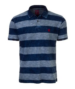 Polo Masculina Made in Mato Premium Multi Lavagens Listrada