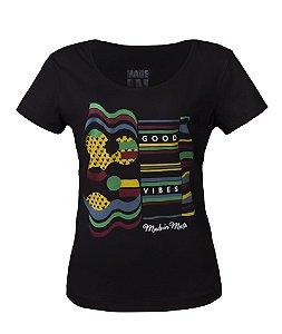 Camiseta Feminina Made in Mato Culture Preta