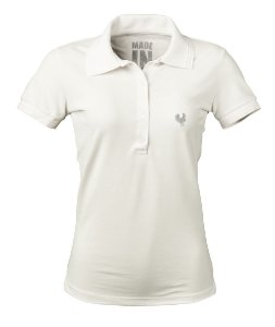 Camisa Polo Feminina Made in Mato Off White