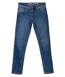 Calça Jeans Masculina Lavagem Clara