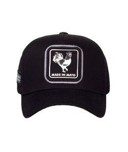 Boné Made in Mato Trucker Hive Preto