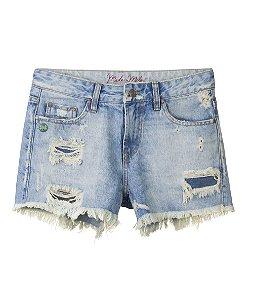 Shorts Feminino Made in Mato com Detalhes