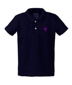 Camisa Polo Infantil Made in Mato Marinho