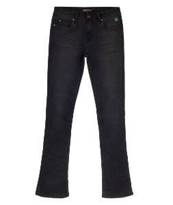 Calça Jeans Feminina Made in Mato Flare Preta