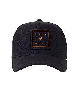 Boné Made in Mato Orange Frame
