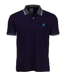 Camisa Polo Masculina Made in Mato Marinho com Friso