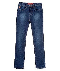 Calça Jeans Feminina Made in Mato Modelo Cowgirl Cut