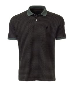 Polo Made in Mato Masculina Jacquard Listrada