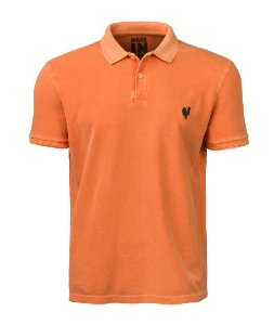 Polo Made in Mato Masculina Stone Laranja