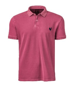 Camisa Polo Masculina Made in Mato Stone Chiclete