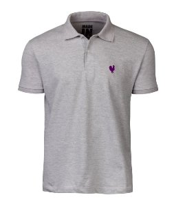 Camisa Polo Masculina Made in Mato Mescla