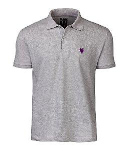 Camisa Polo Masculina Made in Mato Mescla