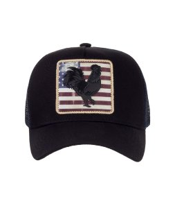 Boné Made in Mato Flag USA Trucker Infantil