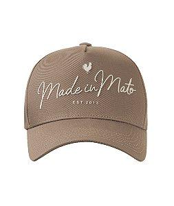 Boné Made in Mato Writing Nude